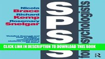 Best Seller SPSS for Psychologists: Fifth Edition Free Read