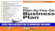 Best Seller The Plan-As-You-Go Business Plan Free Read