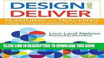 Ebook Design and Deliver: Planning and Teaching Using Universal Design for Learning Free Read