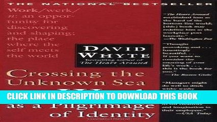 Ebook Crossing the Unknown Sea: Work as a Pilgrimage of Identity Free Read