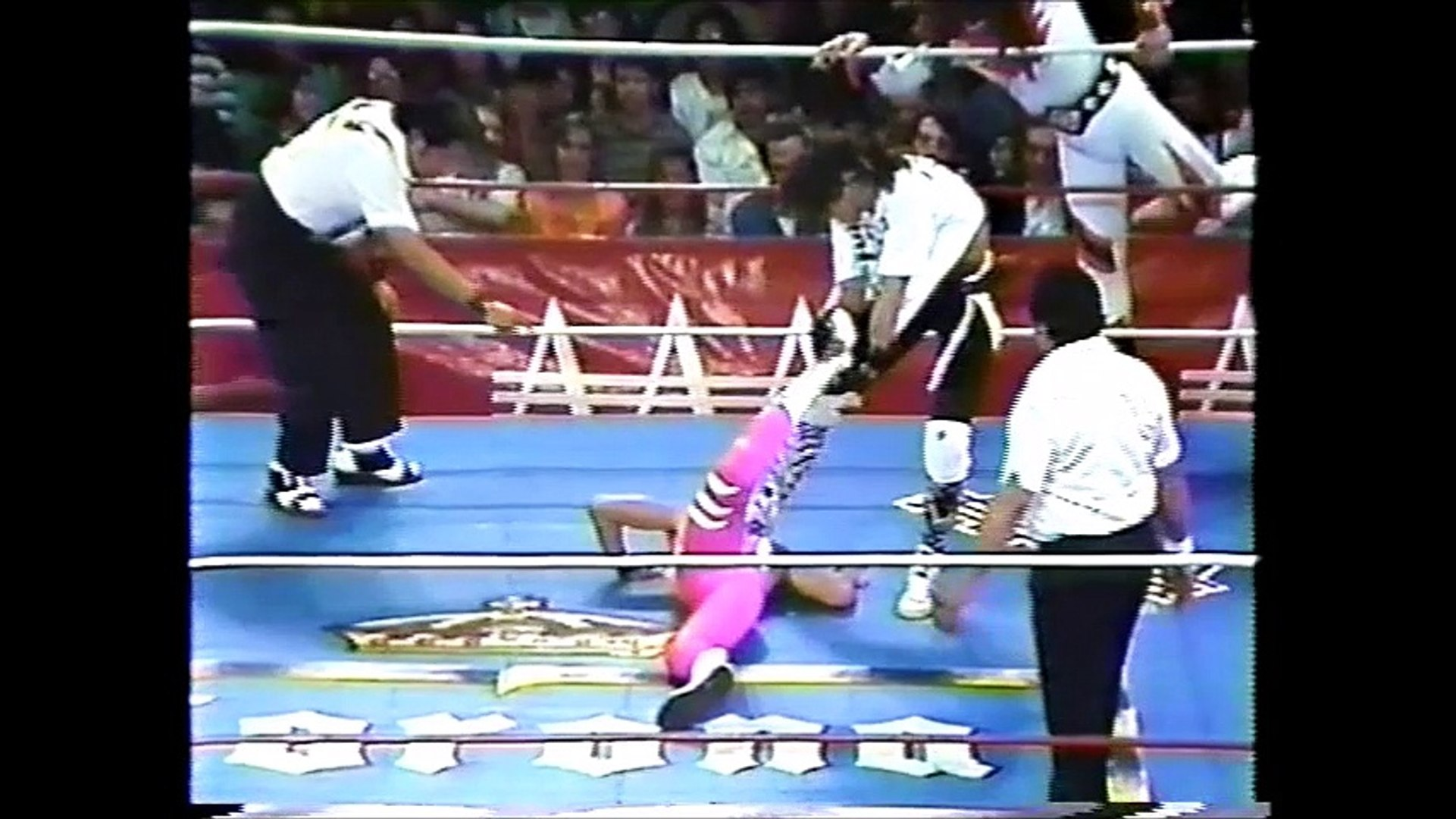 La Parka/Psicosis/Heavy Metal vs Rey Misterio Jr/Misterioso/Volador (AAA March 21st, 1993)