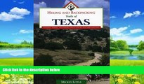 Books to Read  Hiking and Backpacking Trails of Texas: Walking, Hiking, and Biking Trails for All
