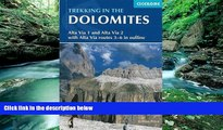 Big Deals  Trekking in the Dolomites: Alta Via 1 And Alta Via 2 With Alta Via Routes 3-6 In