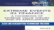 [New] Ebook Extreme Events in Finance: A Handbook of Extreme Value Theory and its Applications