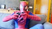 Spiderman Becomes Spider vs Frozen Elsa in Real Life ft Joker Prank & Spiderbaby - Fun Superhero