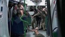 Attaque de zombies dans le métro