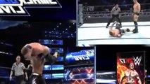 John Cena Dean Ambrose vs AJ Styles The miz WWE SmackDown Live 13 september 2016 (Full Match)