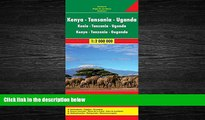 READ book  Kenya / Tanzania / Uganda FB 1:2M 2013 (English, French and German Edition)  FREE