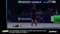 Paris-Bercy – Stan Wawrinka : Son énorme coup de gueule contre Jean-Vincent Placé en plein match