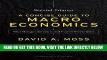 [PDF] A Concise Guide to Macroeconomics, Second Edition: What Managers, Executives, and Students