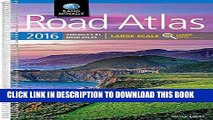 Read Now Rand McNally 2016 Large Scale Road Atlas (Rand Mcnally Large Scale Road Atlas USA)