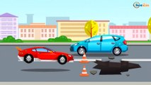 Cars Cartoons about Race Cars & Sports Car Race in the City | Cars & Trucks Cartoons for children