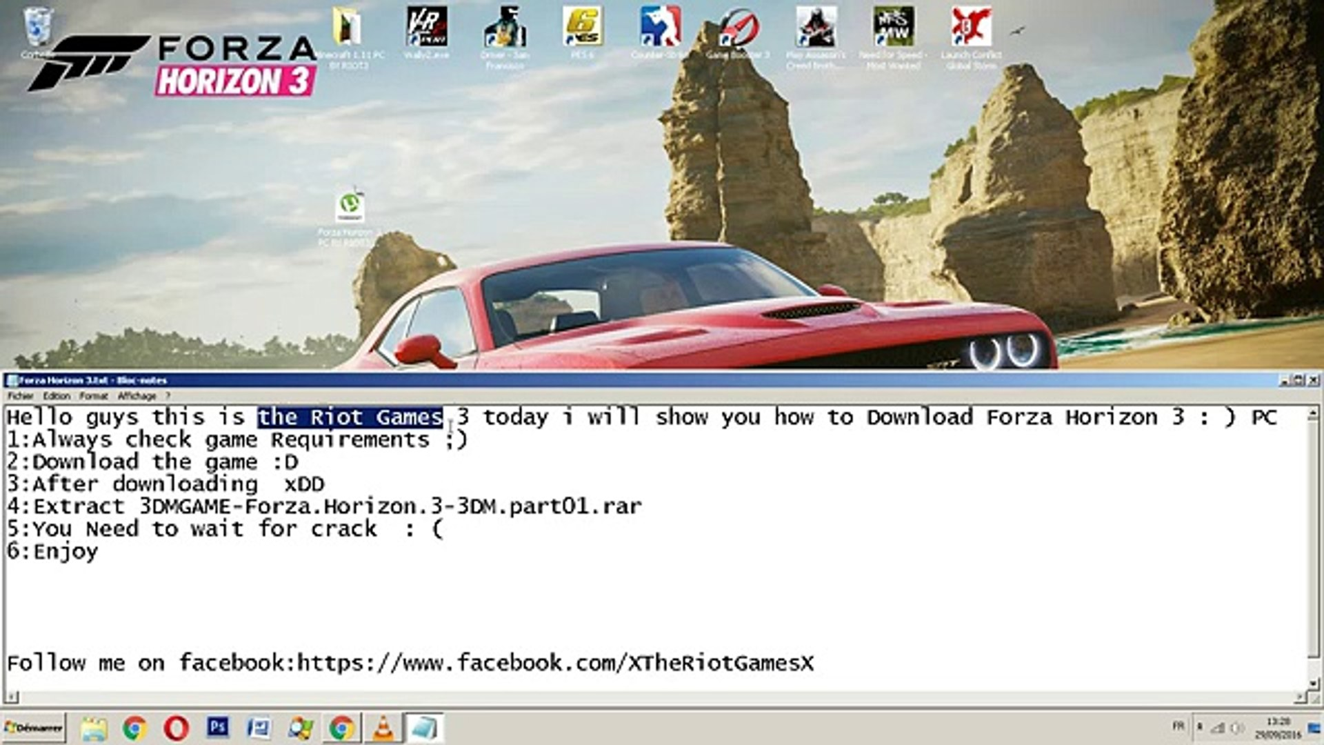 How To Download Forza Horizon 3+Crack PC For FREE