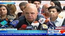 Aquí no se ha paralizado nadie: Diputado Ismael García sobre suspensión de marcha a Miraflores