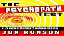 Best Seller The Psychopath Test: A Journey Through the Madness Industry Free Read