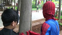 Hulk Vs Spiderman Vs Batman Funny Video Real Life Fight | Superhero Fights And Epic Rap Battles