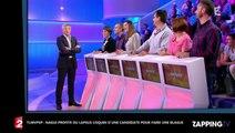 TLMVPSP: Nagui réagit avec humour au lapsus coquin d'une candidate (Vidéo)