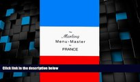 Big Deals  The Marling Menu-Master for France (Marling menu masters series)  Best Seller Books