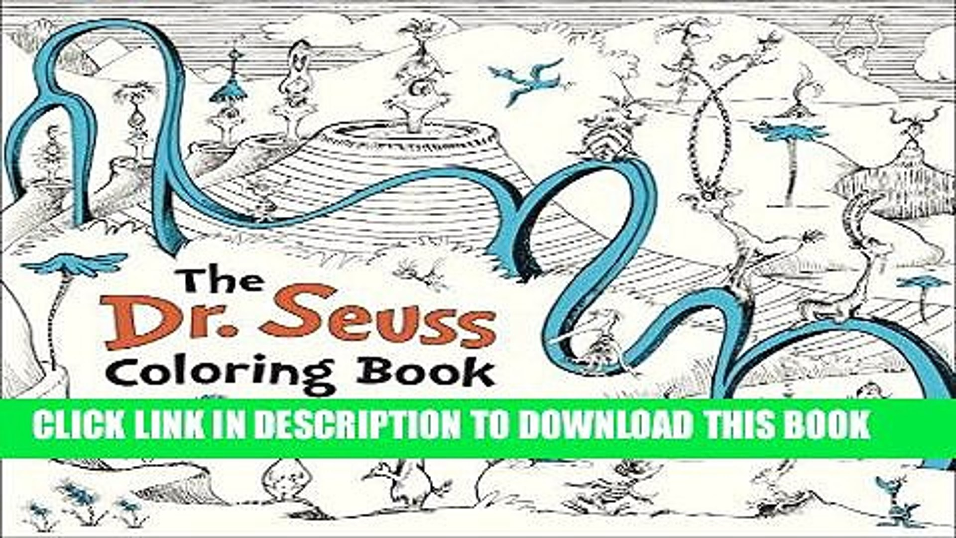 [Ebook] The Dr. Seuss Coloring Book Download Free