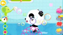Baby pandas Bath Time   Cute Animals, bath toys, bubbles and more Kids games by Babybus