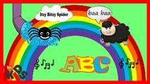 Chansons pour les enfants en anglais - l'araignee gipsy - Alphabet - baa baa mouton noir