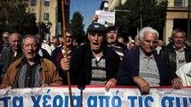Grèce : la colère des retraités contre une nouvelle baisse des pensions