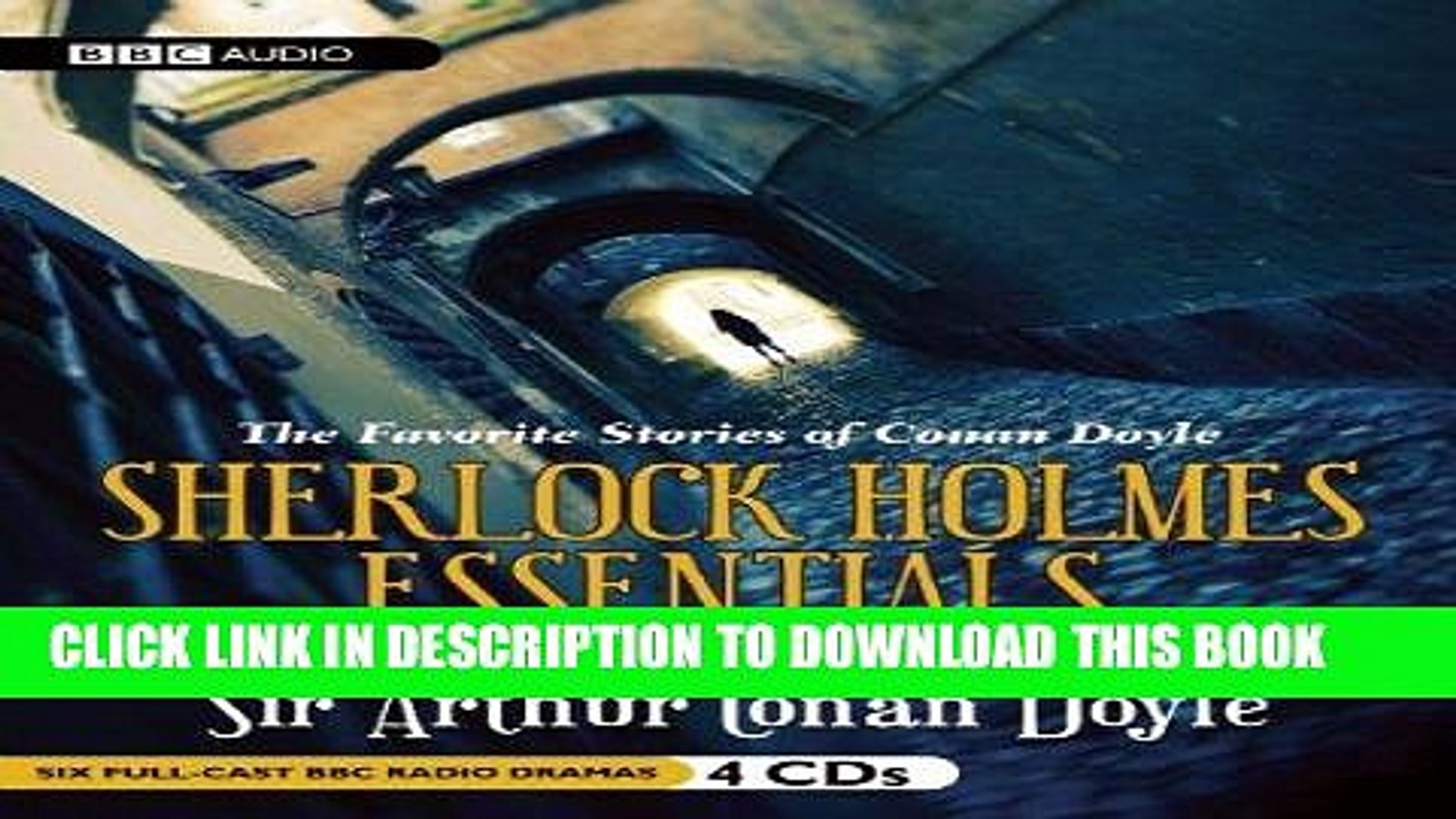 [Ebook] Sherlock Holmes Essentials, Volume 1 (Six Full Cast BBC Radio  Dramas) (BBC Radio Series)