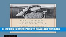 [PDF] Holocaust, Genocide, and the Law: A Quest for Justice in a Post-Holocaust World Popular Online