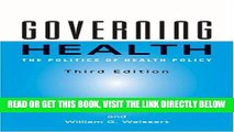 [READ] EBOOK Governing Health: The Politics of Health Policy BEST COLLECTION