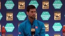 "ATP - BNPPM 2016 - Novak Djokovic : ""Contre Marin Cilic, ça sera difficile"""