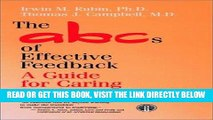 [FREE] EBOOK The ABCs of Effective Feedback: A Guide for Caring Professionals ONLINE COLLECTION