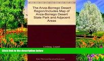 Big Deals  The Anza-Borrego Desert Region/Includes Map of Anza-Borrego Desert State Park and