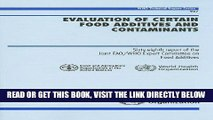 [READ] EBOOK Evaluation of Certain Food Additives and Contaminants: Sixty-eight Report of the