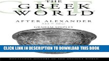 Read Now The Greek World After Alexander 323-30 BC (The Routledge History of the Ancient World)