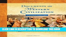 Read Now Documents of Western Civilization Volume II: Since 1500 PDF Book
