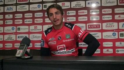 Rugby Pro D2 - Jérémy Gondrand après Oyonnax - Aurillac