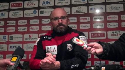 Rugby Pro D2 - Johann Authier après Oyonnax - Aurillac