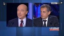 Passe d'armes entre Juppé et Sarkozy à propos de Bayrou
