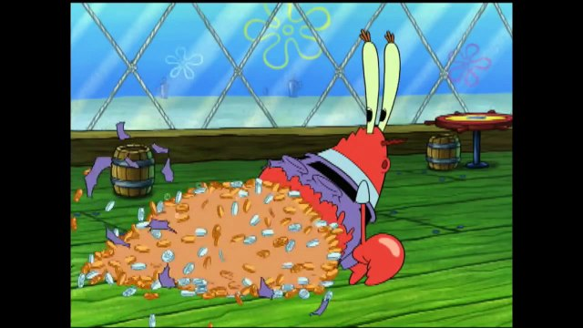"Spongebob Squarepants   Mr. Krabs' ""me Money"" Official Music Video   Nick"