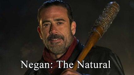 "Negan stars in ""The Natural"""