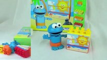 Cookie Monster KNex Beach Party Cookie Monsters Sunny Day Beach Lego Building Set