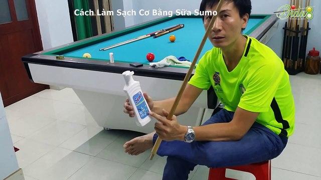 [bida8.vn] Cách Làm Sạch Cơ Bằng Sữa Sumo