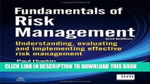 [PDF] Fundamentals of Risk Management: Understanding, Evaluating and Implementing Effective Risk