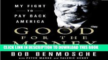 Best Seller Good for the Money: My Fight to Pay Back America Free Read