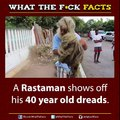 OMG! This old man shows his 40 years old Dread's