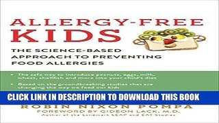 New Ebook Allergy Free Kids The Science Based App