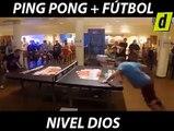 Futbol y ping pong