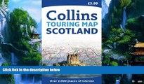 Big Deals  Collins Scotland Touring Map 1:316,800 (Collins Travel Guides)  Best Seller Books Most