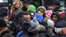 La longue attente des migrants évacués de Stalingrad