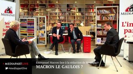 «En direct de Mediapart»: Macron, quel Européen ?